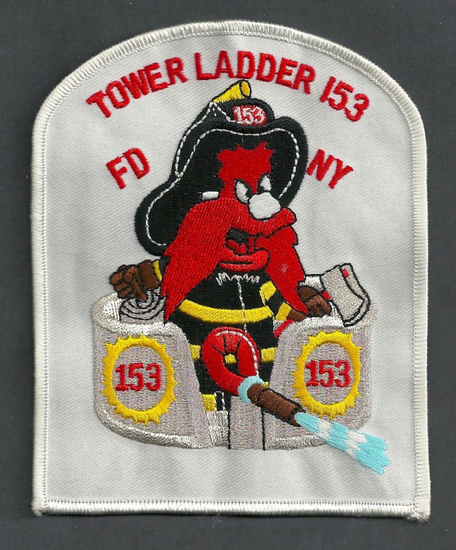 Brooklyn New York Ladder Company 153 Fire Patch