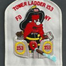 Brooklyn New York Ladder Company 153 Fire Patch
