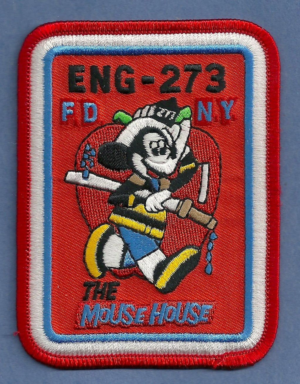 Queens New York Engine Company 273 Fire Patch