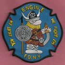 Brooklyn New York Engine Company 222 Fire Patch