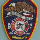 Brooklyn New York Engine Company 247 Fire Patch