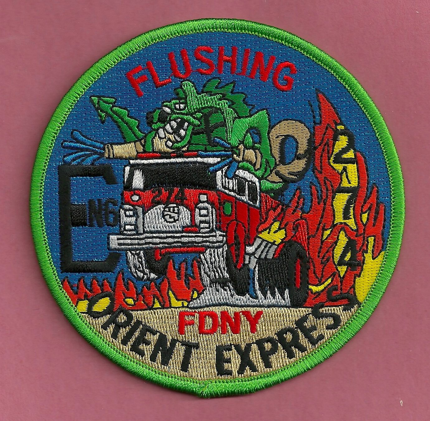 FDNY Queens New York Engine Company 274 Fire Patch