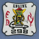 Queens New York Engine Company 298 Fire Patch