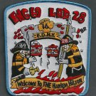 Harlem New York Engine 69 Ladder 28 Company Fire Patch