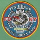 Bronx New York EMS Battalion 26 Fire Patch