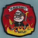 Bronx New York Engine 79 Ladder 37 Fire Company Patch