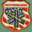 Bronx New York EMS Haz Tech Battalion 26 Fire Patch