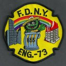 Bronx New York Engine Company 73 Fire Patch