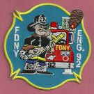 Bronx New York Engine Company 92 Fire Patch