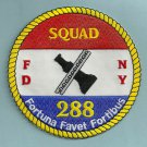 FDNY Queens New York Squad Company 288 Fire Patch
