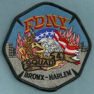 Bronx-Harlem New York Squad Company 41 Fire Patch