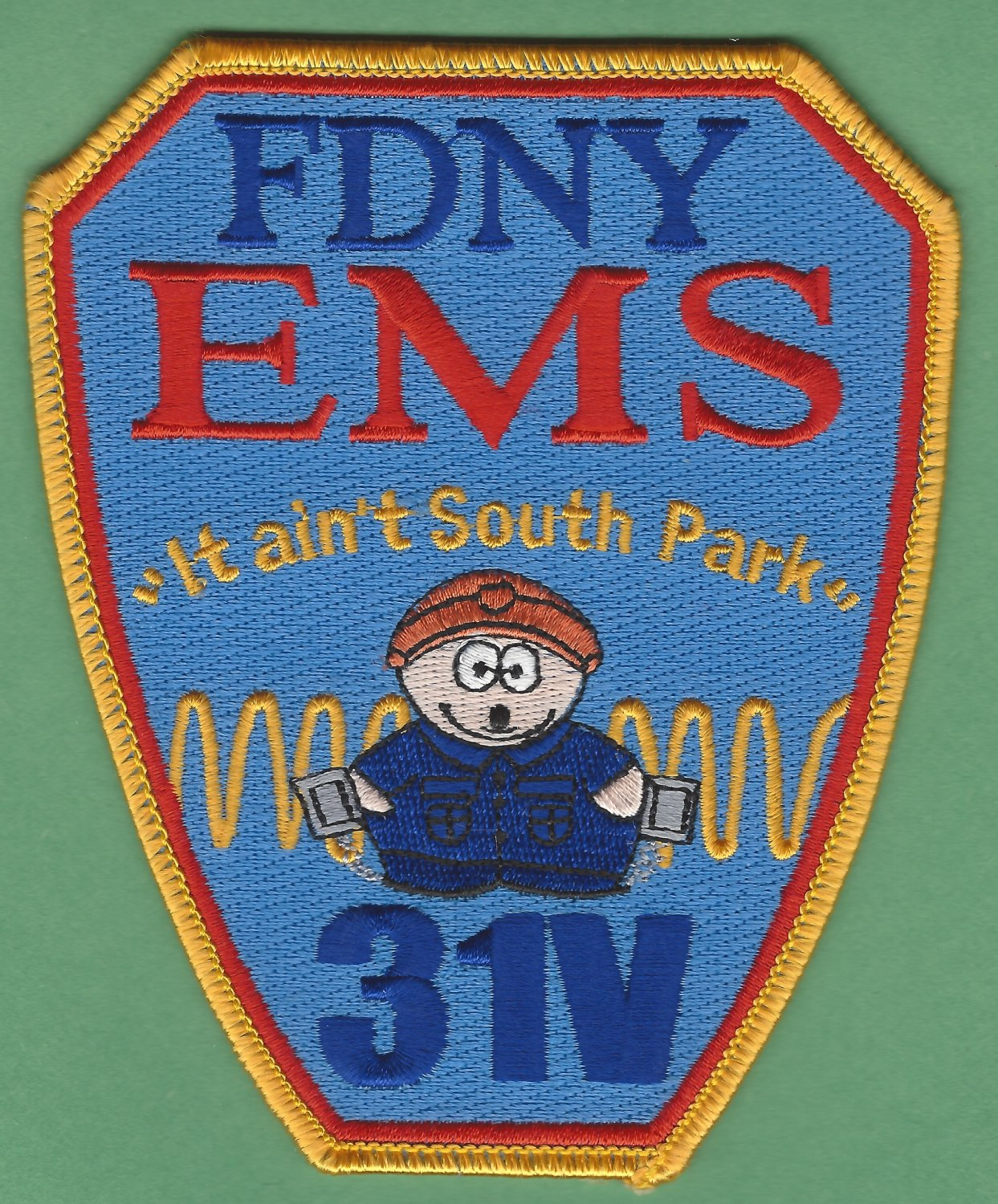Brooklyn New York EMS Station 31V Fire Patch