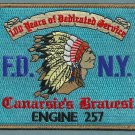 Brooklyn New York Engine Company 257 Fire Patch