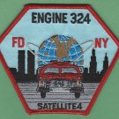 Queens New York Engine 324 Satellite 4 Company Fire Patch