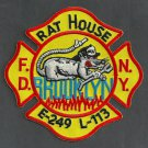 Brooklyn New York Engine 249 Ladder 113 Fire Company Patch