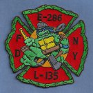 Queens New York Engine 286 Ladder 135 Company Fire Patch