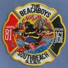 Staten Island New York Engine 161 Ladder 81 Company Fire Patch
