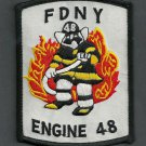 FDNY Bronx New York Engine Company 48 Fire Patch