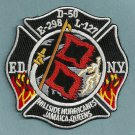 FDNY Queens New York Engine 298 Ladder 127 Company Fire Patch