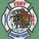 Queens New York Engine 331 Ladder 173 Fire Company Patch