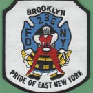 FDNY Brooklyn New York Engine Company 236 Fire Patch