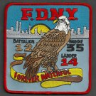 Manhattan New York Engine 35 Ladder 14 Company Fire Patch