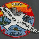 Staten Island New York Engine 153 Ladder 77  Company Fire Patch