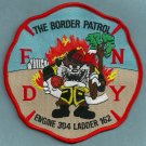 Queens New York Engine 304 Ladder 162 Company Fire Patch