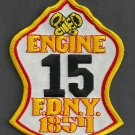 Manhattan New York Engine Company 15 Fire Patch
