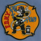 Brooklyn New York Engine 246 Ladder 169 Fire Company Patch