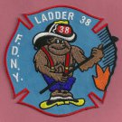 Bronx New York Ladder Company 38 Fire Patch