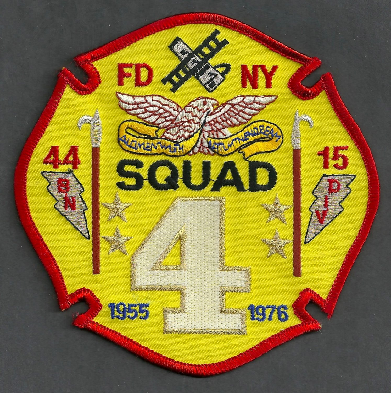 Brooklyn New York Squad Company 4 Fire Patch