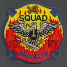 Brooklyn New York Squad Company 1 Fire Patch