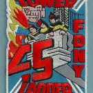 FDNY Manhattan New York Ladder Company 45 Fire Patch