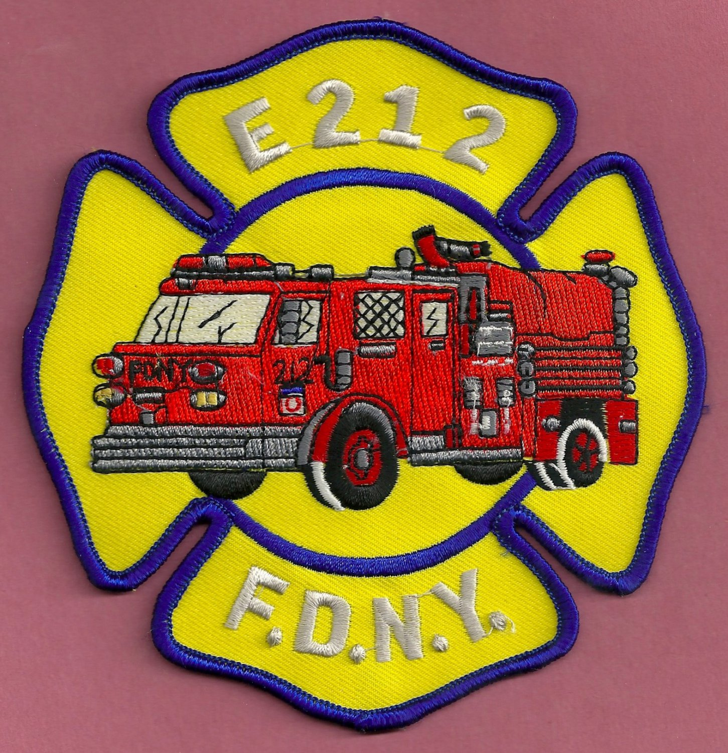 Brooklyn New York Engine Company 212 Fire Patch