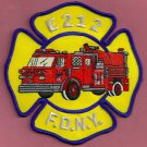 FDNY Brooklyn New York Engine Company 212 Fire Patch
