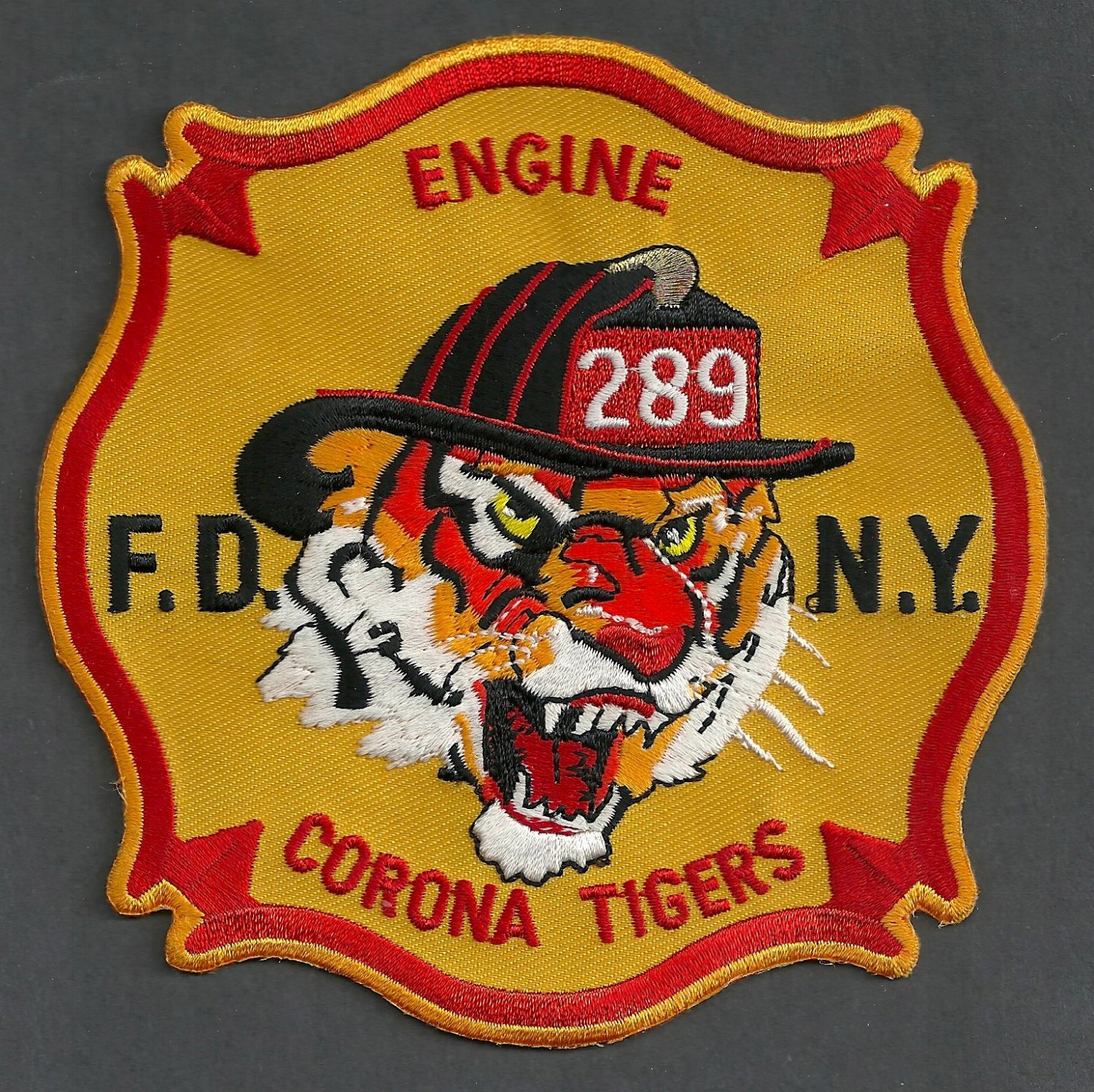 Queens New York Engine Company 289 Fire Patch