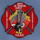 Brooklyn New York Engine 330 Ladder 172 Company Fire Patch