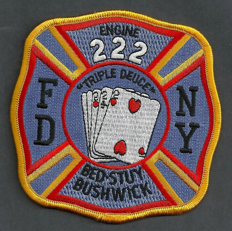 Brooklyn New York Engine Company 222 Fire Patch