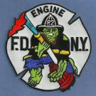 Bronx New York Engine Company 82 Fire Patch