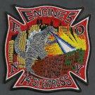 Manhattan New York Engine Company 5 Fire Patch