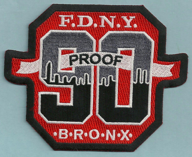 Bronx New York Engine Company 90 Fire Patch