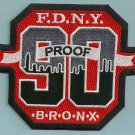 Bronx New York Engine Company 90 Fire Patch