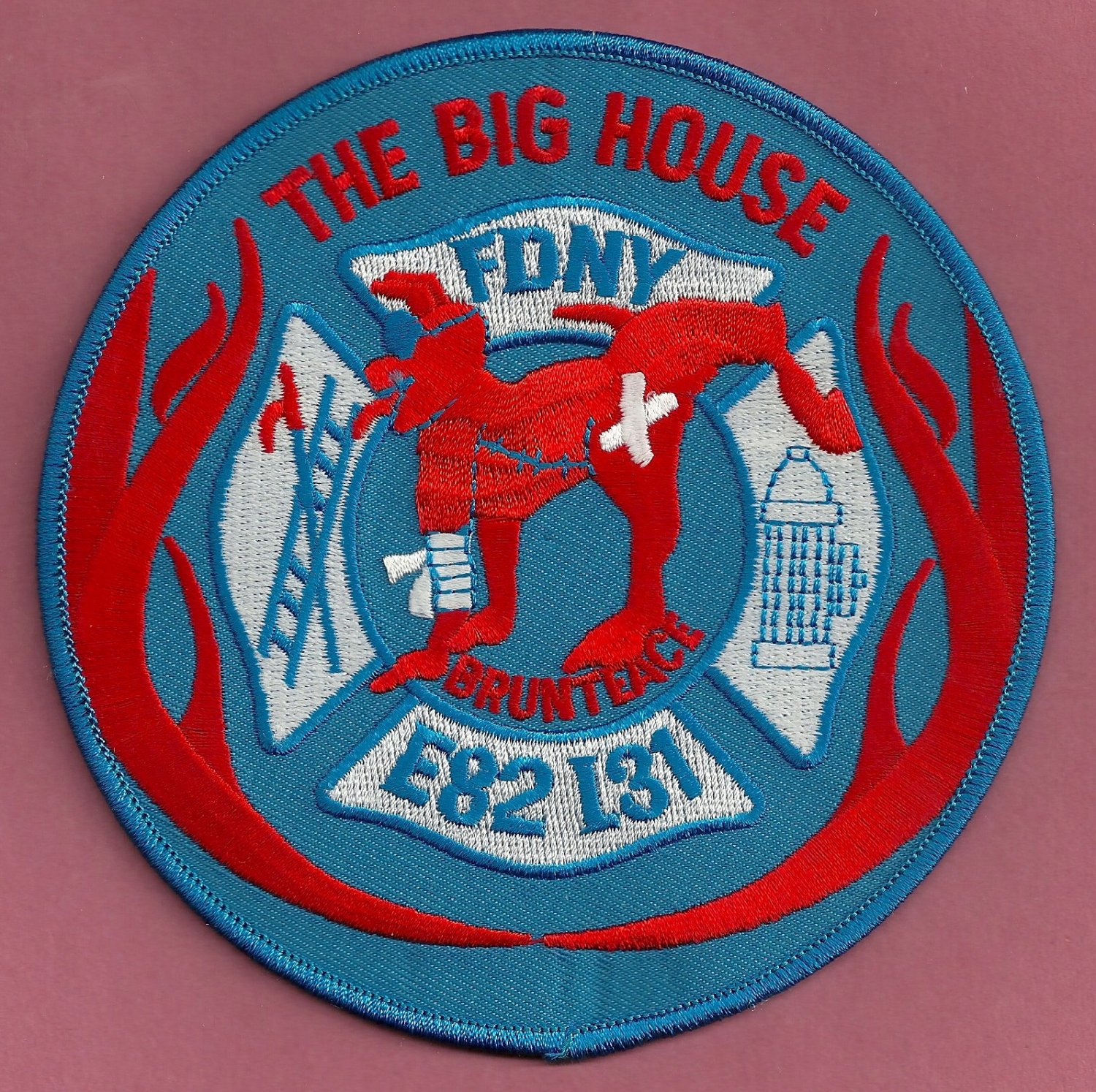 Bronx New York Engine 82 Ladder 31 Fire Company Patch