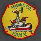 Manhattan New York Fire Boat 1 Fire Patch