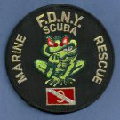 Staten Island New York Marine Scuba Rescue 9 Fire Patch