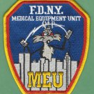 FDNY New York EMS Medical Equipment Unit Fire Patch