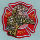 FDNY Bronx New York Engine 46 Ladder 27 Fire Company Patch