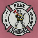 FDNY Brooklyn New York Engine 229 Ladder 146 Fire Company Patch