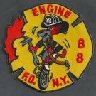 FDNY Bronx New York Engine Company 88 Fire Patch